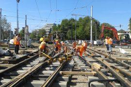 Qualitätssicherung im Gleisbau